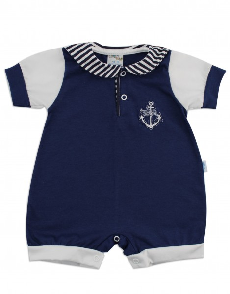 acquistare in arrivo prezzo abbordabile Pagliaccetto neonato Polo Ancora blu 0-1 mese