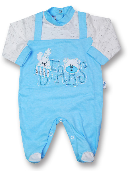 Tutina rabbit bears in cotone jersey
