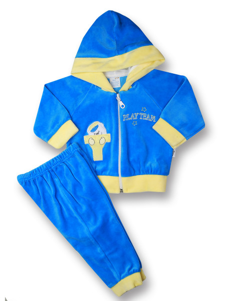 Completino tuta neonato 2 pz play team